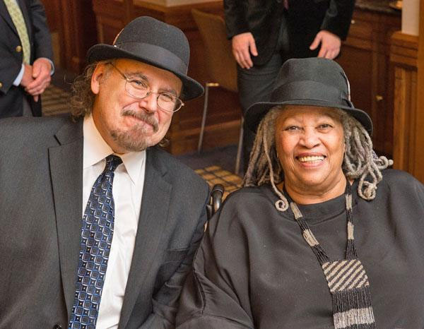 Toni Morrison and Davíd Carrasco